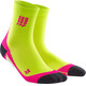 cep Short Socks Women lime/pink